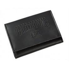 South Carolina Gamecocks Black Leather Tri-Fold Wallet