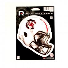"""South Carolina Gamecocks 6"""" Helmet Die-Cut Window Decal"""