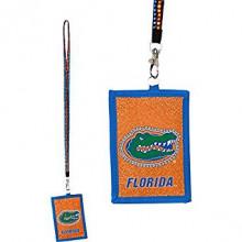 Florida Gators Beaded Lanyard I.D. Wallet
