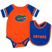 Florida Gators Colosseum Infant  Bib and Bodysuit Set (3-6 Months)