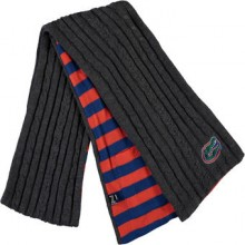 Florida Gators Charcoal Varsity Pocket Scarf