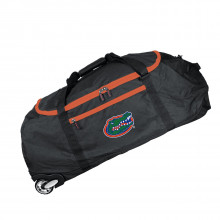 Florida Gators Collapsible Roller Duffle Bag