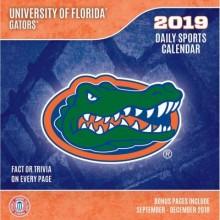 Florida Gators 2019 Boxed Desk Calendar