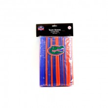 Florida Gators 100 Count Team Color Straws