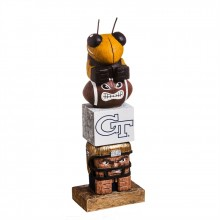 Georgia Tech Yellow Jackets Tiki Totem