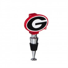 Georgia Bulldogs Logo Bottle Stopper