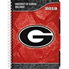 Georgia Bulldogs 2019 Tabbed Planner Personal Organizer