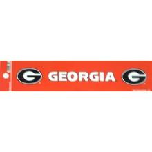 "Georgia Bulldogs 2"" X 10"" Bumper Sticker"
