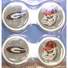 Georgia Bulldogs Contact Lens Case 2 Pack