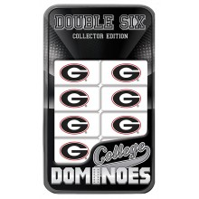 Georgia Bulldogs Collectors Edition Double Six Dominoes