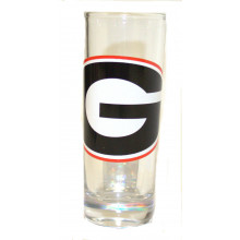 Georgia Bulldogs 2 oz Cordial Shot Glass