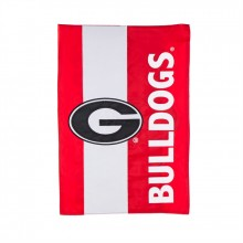 Georgia Bulldogs Embellish House Flag