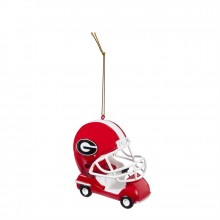 Georgia Bulldogs Field Car Ornament