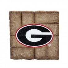 Georgia Bulldogs 12 inch x 12 inch Garden Stone