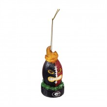 Georgia Bulldogs Light Up Tiki Ornament