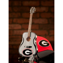 Georgia Bulldogs 1:4 Scale Mini Guitar