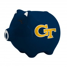 Georgia Tech Yellow Jackets Ceramic Piggy Bank