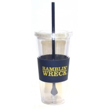 "Georgia Tech Yellow Jackets ""Ramblin Wreck"" 22 oz Slogan Tumbler"
