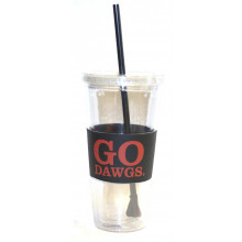 "Georgia Bulldogs ""Go Dawgs"" 22 oz Slogan Tumbler"