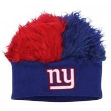 New York Giants Faux Fur Hair Flair Beanie