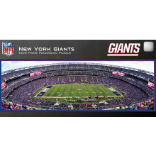 New York Giants 1000 Piece Panoramic Puzzle