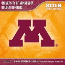 Minnesota Golden Gophers 12 x 12 Wall Calendar (2019)