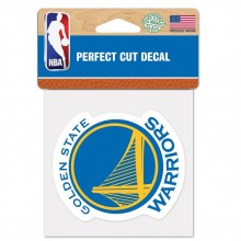 "NBA  Golden State Wariors 8"" X 8"" Perfect Cut Color Decal"