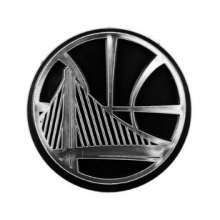 "Golden State Warriors 3"" Chrome Emblem"