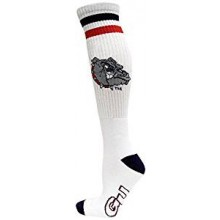 Gonzaga Bulldogs Tube Socks White