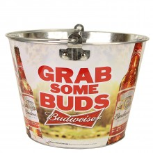 "Budweiser ""Grab Some Buds"" Beer  Bucket"