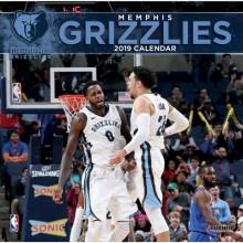 Memphis Grizzlies 12 x 12 Wall Calendar 2019