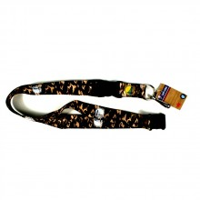 Golden State Warriors Camo Breakaway Lanyard Key Chain