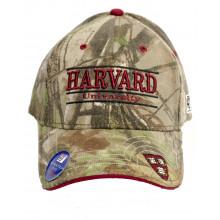Harvard Crimson Realtree A-Flex Embroidered Hat