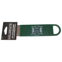 University of Hawaii Warriors Vinyl Covered Bottle Opener