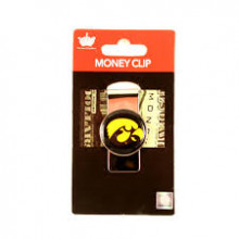 Iowa Hawkeyes Dome Money Clip