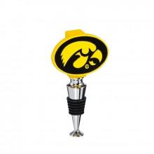 Iowa Hawkeyes Logo Bottle Stopper