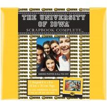 "Iowa Hawkeyes 8"" X 8"" Complete Scrapbook Kit"