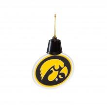 Iowa Hawkeyes Acrylic LED Light Up Ornament