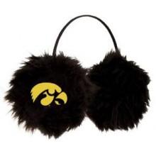 Iowa Hawkeyes Embroidered Faux Fur Team Logo Earmuffs Cheermuffs