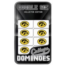 Iowa Hawkeyes Collectors Edition Double Six Dominoes