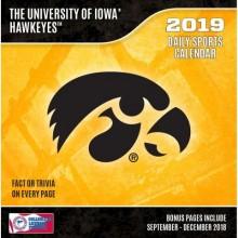 Iowa Hawkeyes 2019 Boxed Desk Calendar