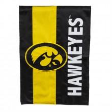 Iowa Hawkeyes Embellish Garden Flag
