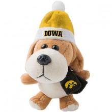 Iowa Hawkeyes 4 inch Plush Dog Ornament