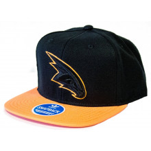 Atlanta Hawks Neon Flat Bill Adjustable Hat