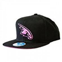 Atlanta Hawks Neon Logo Flat Bill Adjustable Hat