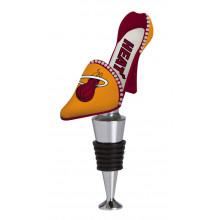 Miami Heat Shoe Wine Bottle Stopper
