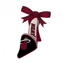 Miami Heat Team High Heel Shoe Ornament