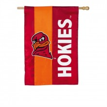 Virginia Tech Hokies Embellish House Flag