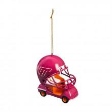 Virginia Tech Hokies Field Car Ornament
