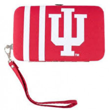 "Indiana Hoosiers Distressed Wallet Wristlet Case (3.5"" X .5"" X 6"")"